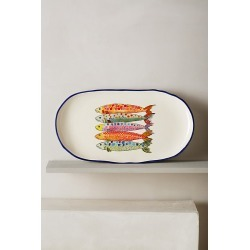 Sardina Small Platter By Anthropologie in Assorted Size S found on Bargain Bro Philippines from Anthropologie for $24.00