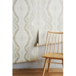 Striation Wallpaper By York Wallcoverings in Beige found on Bargain Bro from Anthropologie for USD $66.88