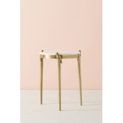 Perched Side Table - Brown