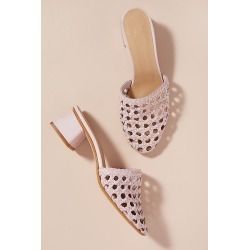 Alice Archer x Anthropologie Leather Mules - Pink, Size 36 found on MODAPINS from Anthropologie UK for USD $162.82