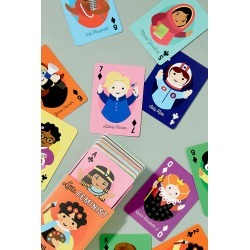 Little Feminist Playing Cards - Red found on Bargain Bro UK from Anthropologie UK