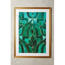 Moroccan Tile Wall Art found on Bargain Bro UK from Anthropologie UK