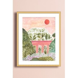 Palm House Wall Art found on Bargain Bro UK from Anthropologie UK