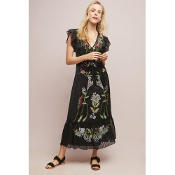 Robe à perles Corsica found on MODAPINS from Anthropologie FR for USD $260.00
