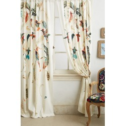 Nests & Nectar Curtain By Michelle Morin in Assorted Size 50X63 found on Bargain Bro Philippines from Anthropologie for $228.00