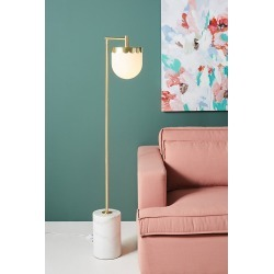 Alana Floor Lamp - Brown, Size L found on Bargain Bro UK from Anthropologie UK
