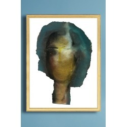 Woman Head Wall Art found on Bargain Bro UK from Anthropologie UK