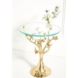 Tree Dwelling Side Table By Anthropologie in Brown