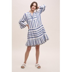 Robe rayée Thali Moliinu00a0 found on MODAPINS from Anthropologie FR for USD $208.00