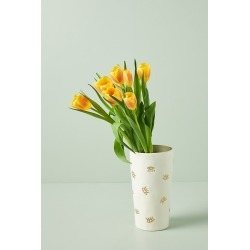 Spirit Eye Vase By Anthropologie in White Size ALL found on Bargain Bro India from Anthropologie for $34.00