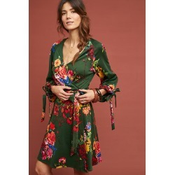 Robe portefeuilleu00a0Dahlia found on MODAPINS from Anthropologie FR for USD $127.34