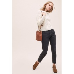 Agolde Jamie High-Rise Straight-Leg Jeans - Blue, Size 31 found on MODAPINS from Anthropologie UK for USD $272.67