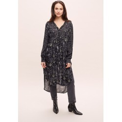 Robe tuniqueu00a0Kayakau00a0Bl-nku00a0 found on MODAPINS from Anthropologie FR for USD $182.00