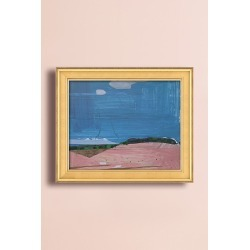 Pink Hill Wall Art found on Bargain Bro UK from Anthropologie UK