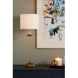 Clove Table Lamp By Anthropologie in Gold