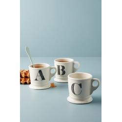 Monogram Mug By Anthropologie in Assorted Size 14 found on Bargain Bro Philippines from Anthropologie for $10.00