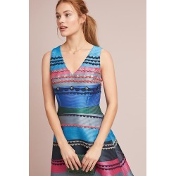 Robe à rayures graphiques Dianne found on MODAPINS from Anthropologie FR for USD $176.74