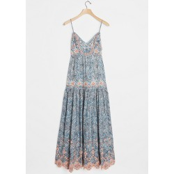 Robe longue brodée Jessa found on MODAPINS from Anthropologie FR for USD $144.30