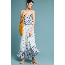 Robe brodée Annike found on MODAPINS from Anthropologie FR for USD $192.34