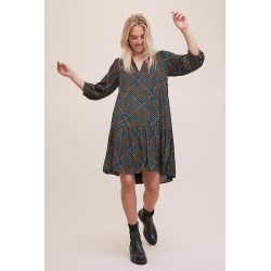Robe smockée Lolia Gestuz found on MODAPINS from Anthropologie FR for USD $195.00