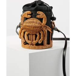 Aranaz Kailani Crustacean Basket Bag found on MODAPINS from Anthropologie for USD $338.00