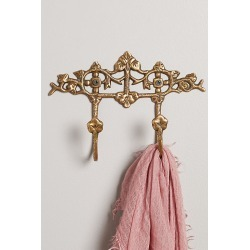 Clover Blooms Hook Rack By Anthropologie in Brown found on Bargain Bro from Anthropologie for USD $21.28