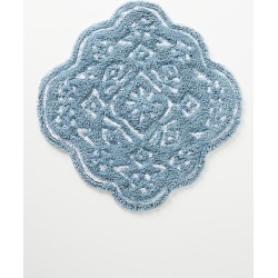 Mosaic Tile Bath Mat By Anthropologie in Blue found on Bargain Bro from Anthropologie for USD $28.88