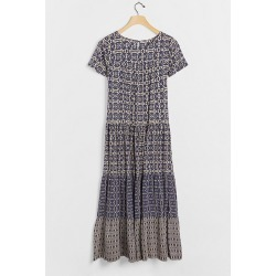Robe longue étagée Merel found on MODAPINS from Anthropologie FR for USD $182.00