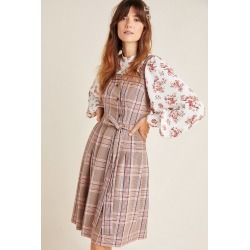 Madison Tie-Front Mini Dress found on MODAPINS from Anthropologie for USD $198.00