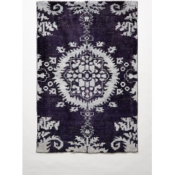 Stonewashed Medallion Rug By Anthropologie in Purple Size 8 X 2.5 found on Bargain Bro Philippines from Anthropologie for $348.00