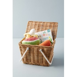 Wicker Picnic Basket found on Bargain Bro India from Anthropologie for $30.00