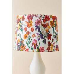 Nathalie Lete Floral Lamp Shade - Beige, Size M found on Bargain Bro UK from Anthropologie UK