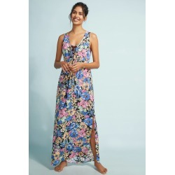 Lace-Up Maxi Dress found on MODAPINS from Anthropologie for USD $128.00