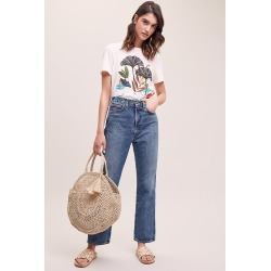Agolde High-Rise Straight-Leg Jeans - Blue, Size 25 found on MODAPINS from Anthropologie UK for USD $293.07