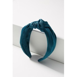 Shimmer Knotted Headband By Anthropologie in Blue found on Bargain Bro India from Anthropologie for $20.00
