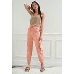 Daily Practice by Anthropologie Anja Seamed Lounge Pants By Daily Practice by Anthropologie in Pink Size XL P found on Bargain Bro India from Anthropologie for $59.95