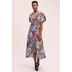 Robe Sadieu00a0Poppyu00a0Field found on MODAPINS from Anthropologie FR for USD $331.50