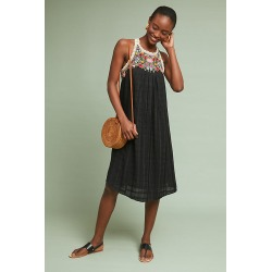 Robe brodée Mosley found on MODAPINS from Anthropologie FR for USD $159.84