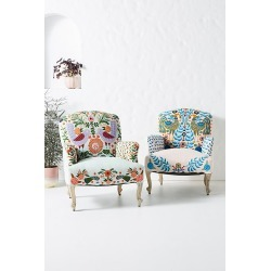 Jimena Occasional Chair - Blue found on Bargain Bro UK from Anthropologie UK