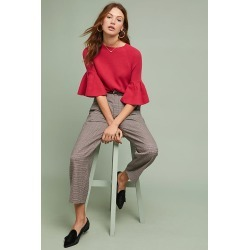 Anais Bell-Sleeved Top - Purple, Size Xs found on MODAPINS from Anthropologie UK for USD $113.86