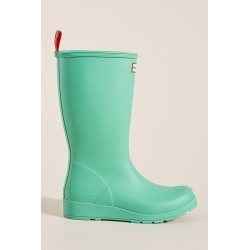 Hunter Original Play Tall Rain Boots By Hunter Boots in Green Size 9