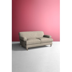 Willoughby Sofa, Performance Linen with Wilcox Leg - Beige found on Bargain Bro UK from Anthropologie UK