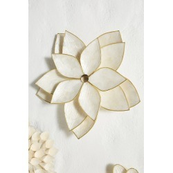 Capiz Wall Flower - White, Size M found on Bargain Bro UK from Anthropologie UK