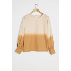 Dorothea Dip-Dyed Blouse By Porridge in Assorted Size M