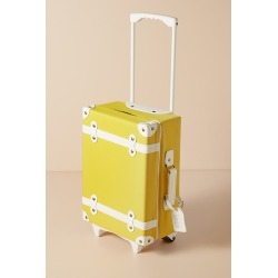 Olli Ella See-Ya Suitcase - Yellow found on Bargain Bro UK from Anthropologie UK