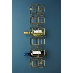 Thea Wall Mounted Wine Rack found on Bargain Bro UK from Anthropologie UK