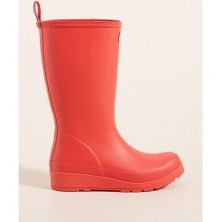 Hunter Original Play Tall Rain Boots By Hunter Boots in Red Size 10
