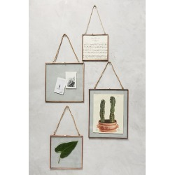 Viteri Hanging Frame By Anthropologie in Brown Size S found on Bargain Bro from Anthropologie for USD $21.28