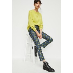 Bluebell Jacquard Pants By Current Air in Blue Size S found on MODAPINS from Anthropologie for USD $49.95