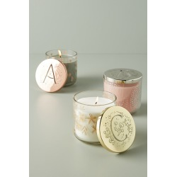 Lumi Monogram Candle - Assorted, Size P found on Bargain Bro UK from Anthropologie UK